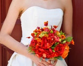 Wedding Bouquet in Roses & Ranuculus for your Wedding, Examply Only! DO NOT PURCHASE