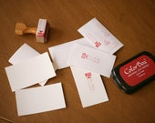 Eco Business Card Kit - Make Your Own OOAK Business Cards