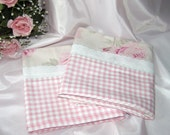 Cottage Chic Pillowcases...so pretty and shabby in pink