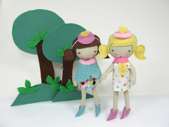Pocket Studio Doll - made to order