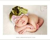 Wall Flower SNUGARS baby girl infant toddler hat headband beanie cap