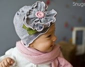 Snugars May Flower spring HAT beanie BABY toddler INFANT girls