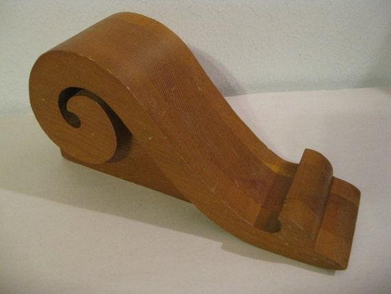 Decorative Vintage Wood Architectural Moulding  ( 1940 )