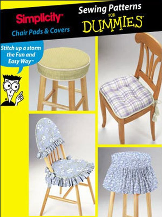 Chair stool covers sewing pattern oop for Furniture cover sewing patterns