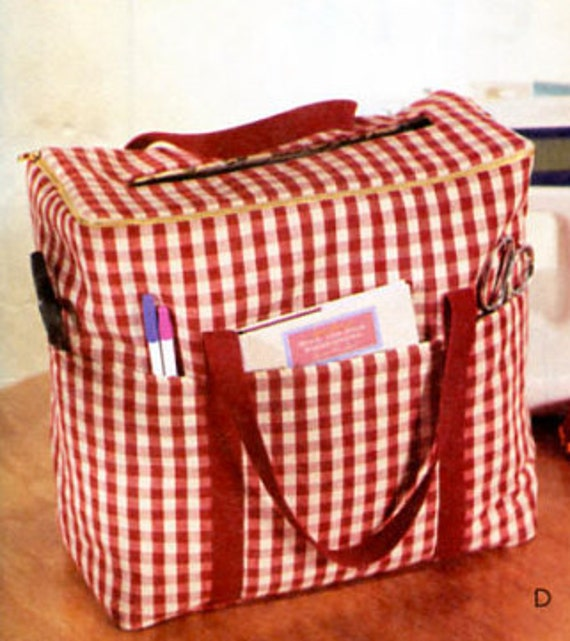 SEWING & CRAFT ROOM Pattern Sewing Machine Carrier Case