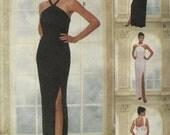Evening Gown Pattern Misses Size 10 12 14 UNCUT - McCalls 9296