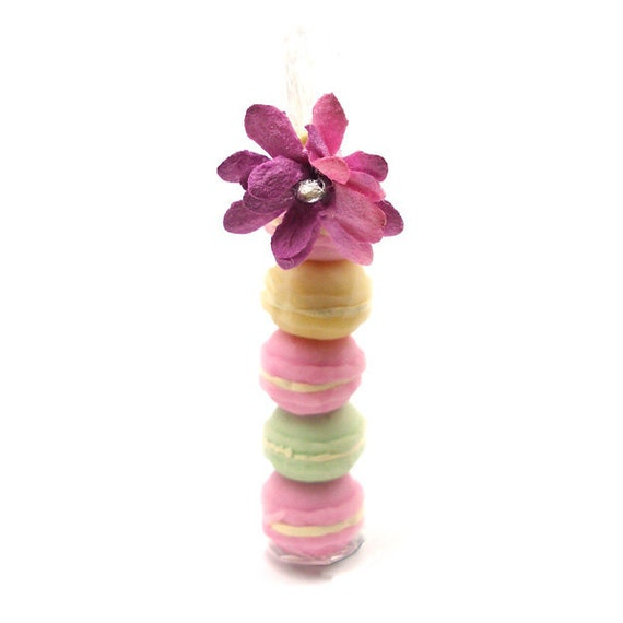 French Macaroons - Dollhouse Miniature Food Handmade