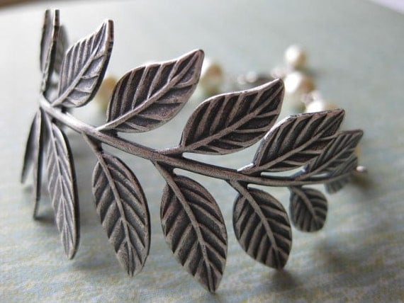 Ophelia in Antique Silver - Reserved for Jenilee