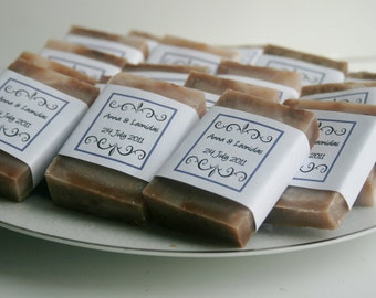 Special Occasion Guest Size Soaps  (Set of 50 ) Wedding Favors, Shower Favors, Party Favors