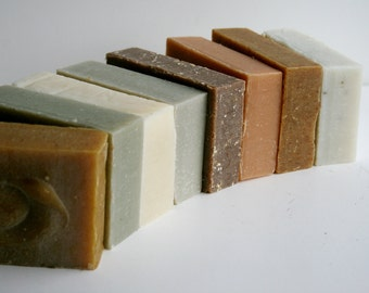 Custom Handmade Soap 8 Pack, Essential Oil Soaps, Natural Soap, Cold Process Soap, Vegan Soap