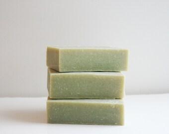 Cedarwood Sage Soap Bar - Essential Oil Soap Bar - Natural Soap