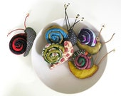 the snail, a slow brooch - made to order