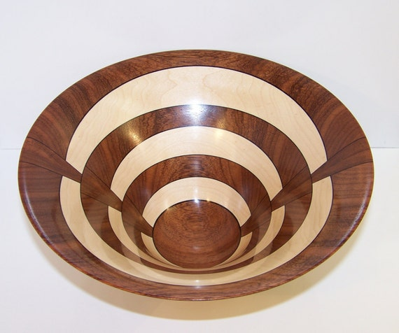 Chechem and Maple Wooden Bowl 563