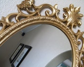 FRENCH COUNTRY-Extra Large 24x36 Decorative Baroque Ornate Vintage Wall Mirror Any Color-Gold French Cottage Vanity Mirror Framed Chalkboard
