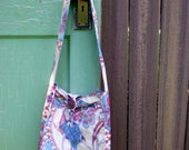 Boxy Floral Tote