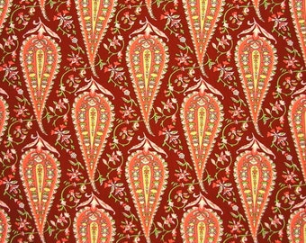 Amy Butler Love Collection  Cypress Paisley  in Wine  1/2 yard