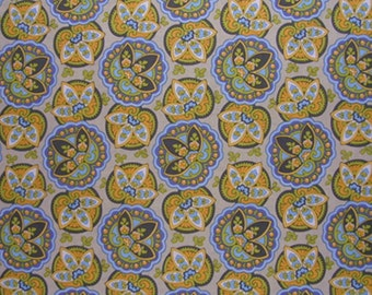 Amy Butler Lotus Collection  Star Paisley in sand  1 Fat Quarter