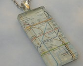 Subway Series London metro pendant