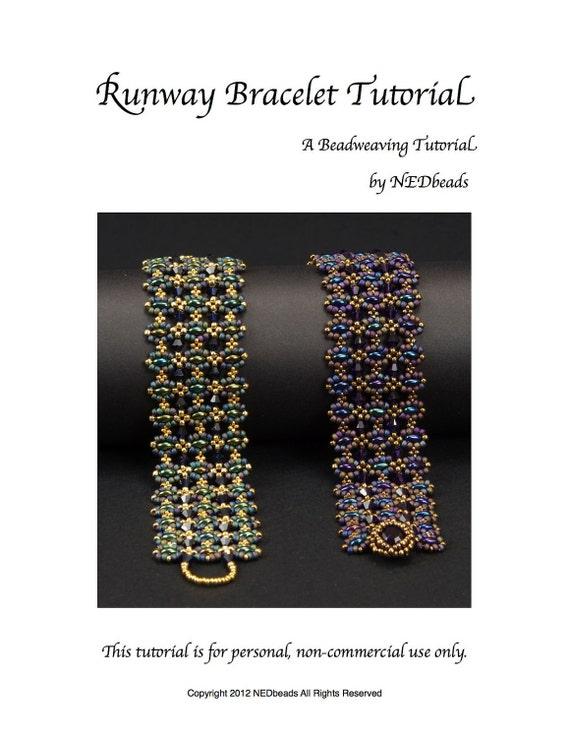 Runway Bracelet Tutorial