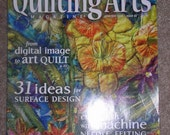 QUILTING ARTS MAGAZINE  JUNE-JULY 2008  ISSUE 33