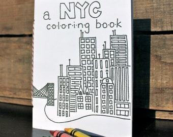 New York City Coloring Book - Ready to Ship