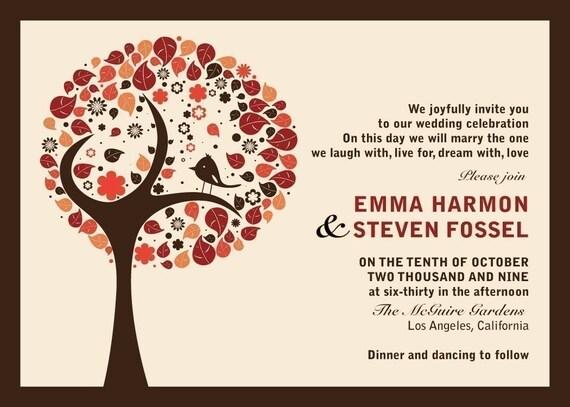 Love Bird - Wedding Invitation
