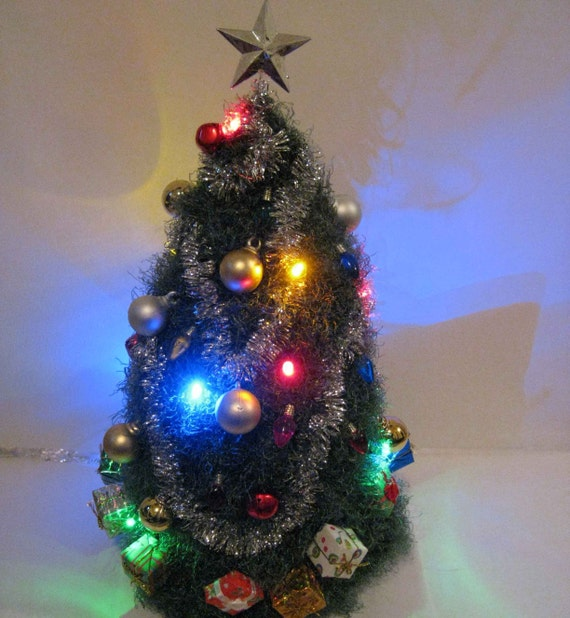 Christmas Tree Hats: Light Up Christmas Tree Hat By Sillyhatgirl On Etsy