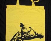 Giraffe TOTE BAG - Perfect Size 15in. x 15in.