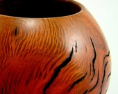 Hot Lava II - Oak Burl Bowl