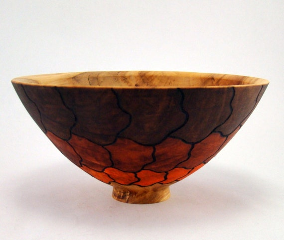 Small Scales - Spalted Birch Bowl