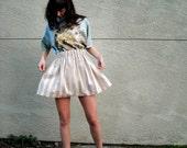 Cupcake Skirt // Tan Stripe XS/S