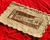 Hand-Made Patch BELCHER Friendly Frayed Edge