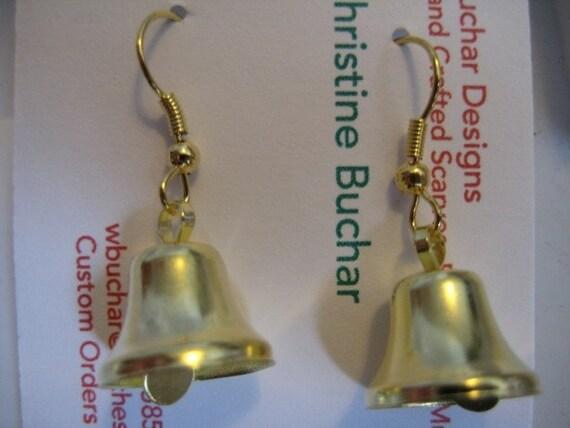 Ringing Bell Dangle Earrings