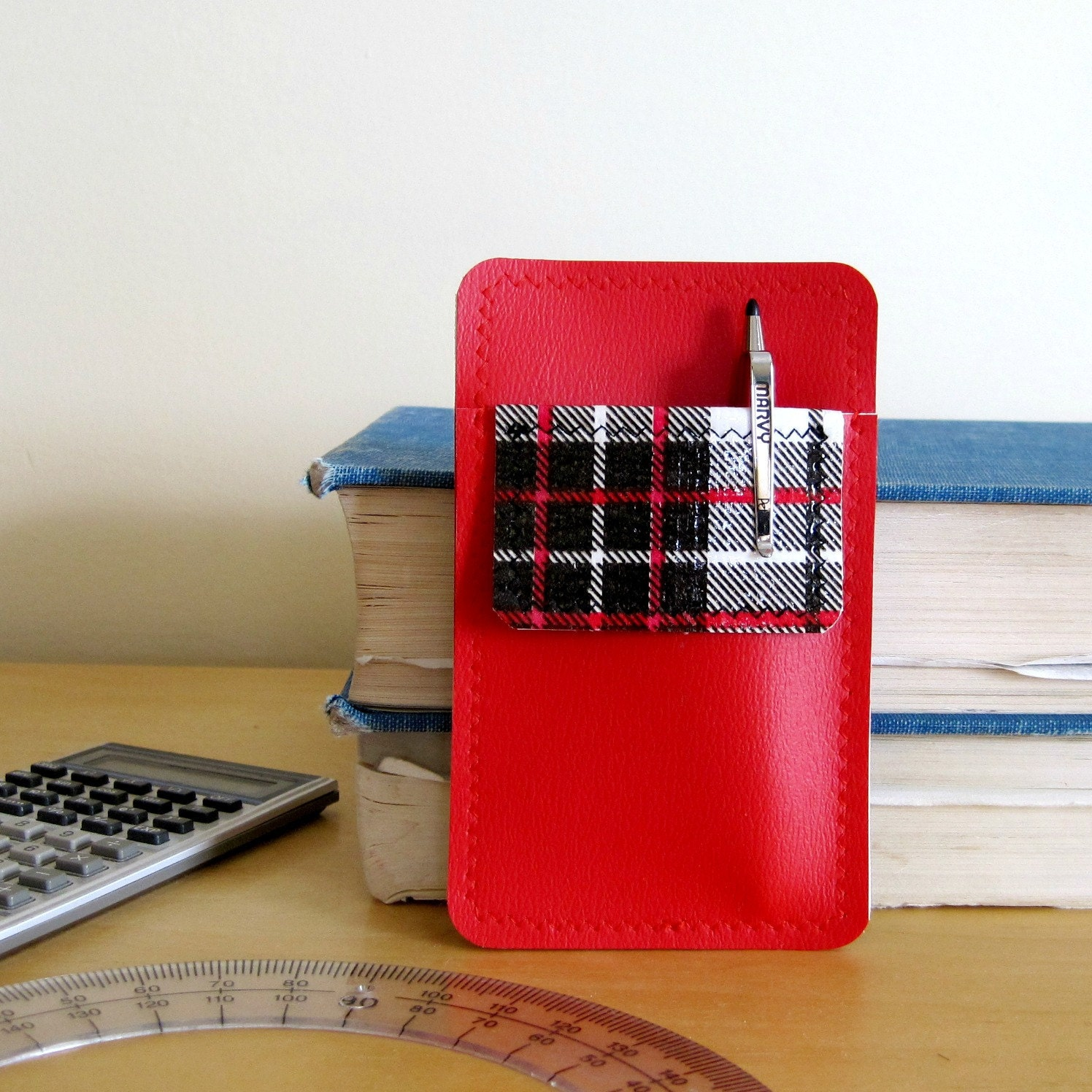 Mini Nerd Power Vinyl Pocket Protector And Business By