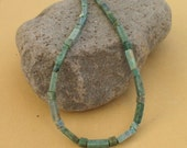 Mens Necklace Green African Jade Unisex Necklace