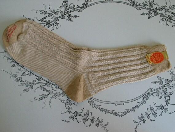 Reserved for Andre The Regal Shoe Company Mens Vintage Socks Size 10 1/2 - 181 Unworn