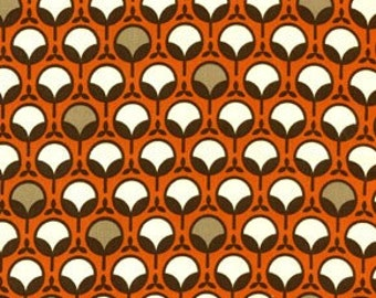 Rare Joel Dewberry Ginseng Collection Modern Bud Rust Color Decor Weight All fabric is shipped priority