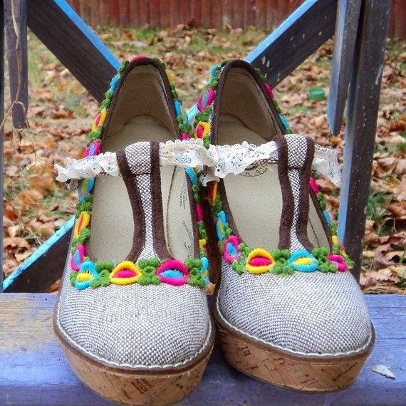 Sale Love Bob Marley Shoes Upcycled Eco Friendly Maryjane