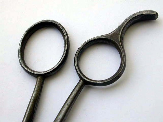 Items similar to Vintage Barber Scissors Hair cutting ...