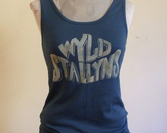 Wyld Stallyns- Bill and Ted's Excellent Adventure Custom Bleached Men's Tshirt or Women's Fitted Tee Shirt or Tank Top
