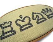 Chess modern cross stitch