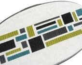 Color blocks modern cross stitch
