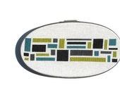 Color blocks modern cross stitch pattern