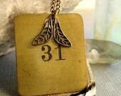 No. 31 Vintage Brass Necklace