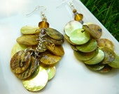 Sunset Shell Earrings