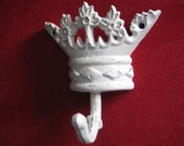 Crown hook, tiara hanger, for the princess, diva, girl or teen, available in many colors