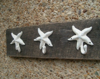 3 Starfish hooks in 26 different colors, UNMOUNTED