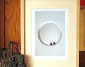 Together No.1 - Clockwork Monkey Toys Wedding Print