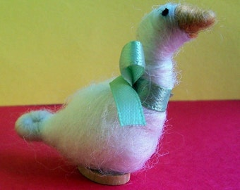 Duck Felted Wool Ornament/Sculpture