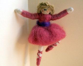 Ballerena Felted Wool Ornament